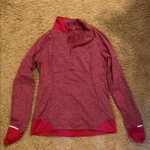Lulu lemon 3/4 zip pullover